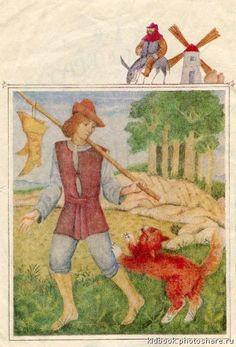 "Mikhail Fedorov illustration for ""Puss in Boots"". John Bauer, All Nature, Mail Art, Folklore, Textile Art, Elves, Fairies, Mythology, Illustrators"