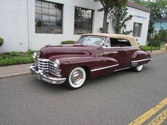 "roxtunecars: ""1947 Cadillac 62 top gear hot cars """