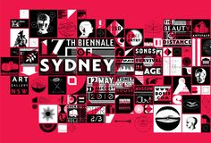 17th Biennale of Sydney identity - Creative Review