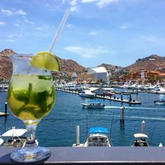 We can't think of many things much better than a mojito and a stunning view of the marina from Breathless Cabo San Lucas!