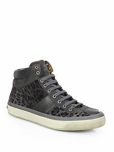 ab80166237123 Jimmy Choo - Belgravi Leopard Print High-Top Sneakers