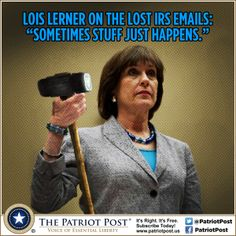Top 10 Lerner Excuses — The Patriot Post