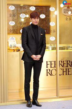 Lee Min Ho Visits Taiwan to Promote Popular Ferrero Rocher Chocolates | A Koala's Playground