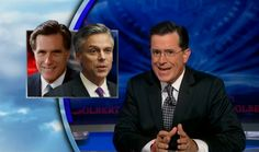 Colbert comments on LDS candidates and ad campaign