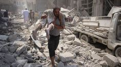 Syria conflict: Bombs rain down as truce hopes rise 9/11/16  Air strikes on rebel-held areas of Syria reportedly kill at least 100 people after the US and Russia announce plans for a truce.