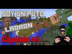 Robando a los aldeanos - Minecraft Capitulo #3