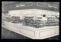 Chicago, IL, Schmitt's Bakery 1950s Postcard