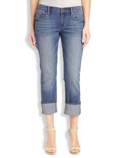 Lucky Brand Sienna Tomboy Crop Womens Jeans - Airlie