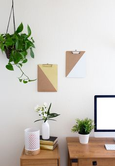 DIY // Accented Clipboards