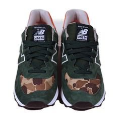 New Balance X Ball and Buck 574 'Mountain Green' available 12/25/2012.