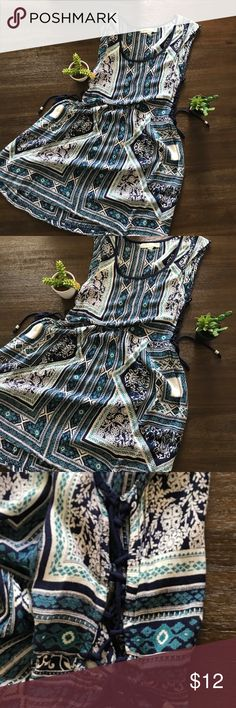 """Urban outfitters dress Urban outfitters staring at stars dress. Length is 32"""" bust size is 16 """". It's a bit sheer so wearing something underneath is recommended. If you bundle you get 10% off your purchase Staring at Stars Dresses Midi"""