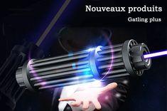 Nouveaux produits version améliorée gatling plus pointeur laser 10W/30W/50W prix pas cher