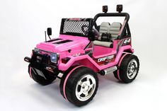 Jeep Wrangler Style Ride On Toy with a 12 Volt Powerful Battery and Powerful Motor will Guarantee Your Child Unforgettable Fun and Hours of Ride Enjoyment for Years to Come, our High Quality Electrica