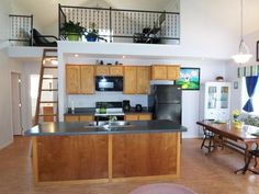 Kitchen in 500 sq. foot home