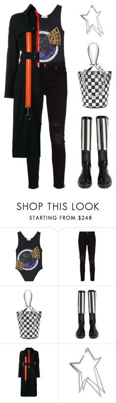 """""""Rainy Day"""" by sewsavy ❤ liked on Polyvore featuring Courrèges, AMIRI, Alexander Wang, Dolce&Gabbana, Givenchy and Jennifer Fisher"""