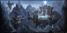 Magic castle Kyung Park Fantasy castle Magic castle Fantasy art landscapes
