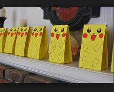 Pokemon party bags