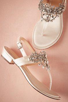 Crystal Pool Sandals #BHLDNwishes