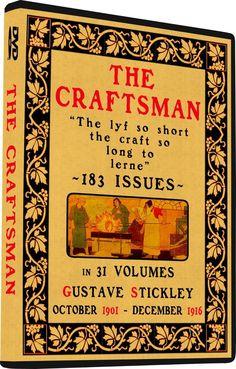 Gustav Stickley THE CRAFTSMAN Magazine House Plans Mission Furniture Arts Crafts