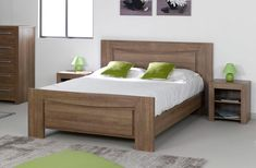 lit eb bois at DuckDuckGo Bed Frame Design, Bedroom Bed Design, Bedroom Furniture Design, Bed Furniture, Bedroom Sets, Bedroom Decor, Simple Bed Designs, Double Bed Designs, House Roof Design