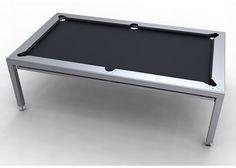 Nottage Design - Steel Pool table, Love it!