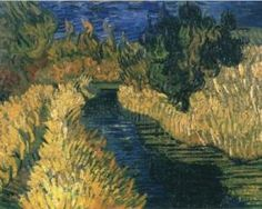 The Little Stream - Vincent van Gogh