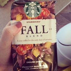 Just over one week until autumn drinks at Starbucks!
