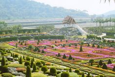 Nong Nooch Tropical Botanical Garden, Pattaya City, Thailand Top 10 Most Beautiful Gardens In The World Most Beautiful Gardens, World's Most Beautiful, Amazing Gardens, Beautiful World, Tropical Landscaping, Tropical Garden, Gardens Of The World, Famous Gardens, Lawn Care