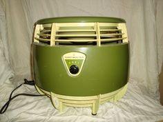 Vintage Decor Toastmaster Floor Fan Hassock Fan Ottoman