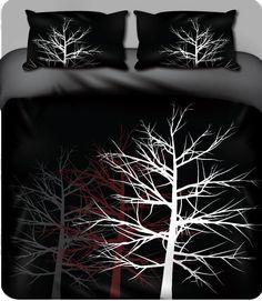 Tree Silhouette - 3 Tones - Duvet Set – LCV Designs & Decor