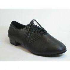 m906 lederen heren ballroomdansschoen met splitt sole en cushion heel | Ballroom Heren | DeJo`s Danceworld