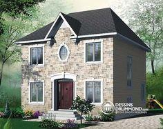 Détail du plan de Maison unifamiliale W2761