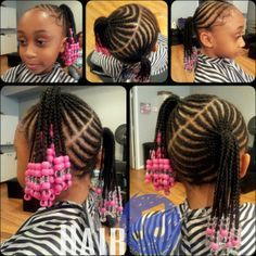 1000+ images about Natural Hair / Hairstyles on Pinterest | Cornrows, Cornrow and Kid hairstyles