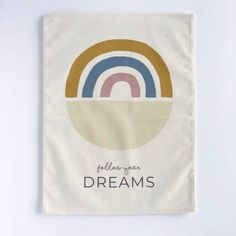 Rainbow 'Follow your Dreams' – Nursery Print – And so to Shop Kids Bedroom, Bedroom Decor, Follow You, Nursery Prints, Dreaming Of You, Rainbow, Dreams, Children, Shop