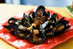 Mussels Provençal and other food & menu photos from the Be Our Guest restaurant!