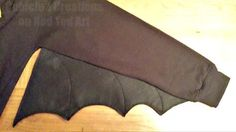 Toothless DIY Costume - wing detail