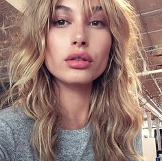 Pin for Later: See Which Celebrities Revealed Major Hair Changes on Instagram Hailey Baldwin Kendall Jenner's best model friend got a new set of bangs, just in time for Fall.