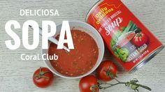 Deliciosa sopa de tomate en solo 2 minutos | Coral Club