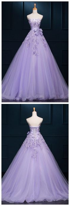 New Arrival Ball Gown Floor-length Luxury Appliques Wedding Dresses