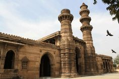 Sidi Sayeed Mosque in Ahmedabad is considered to be the last mosque built in Gujarat during Mughal rule.