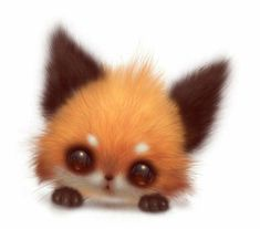 - such cute animals - # cute - Fox Super Cute Animals, Cute Little Animals, Cute Funny Animals, Cute Animal Drawings Kawaii, Kawaii Drawings, Cute Drawings, Baby Animals Pictures, Cute Animal Pictures, Cute Fantasy Creatures