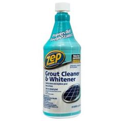 Use this ZEP Grout Cleaner and Whitener for cleaning and whitening floor grout lines. Designed for commercial and residential applications. House Cleaning Tips, Cleaning Supplies, Cleaning Products, Bathroom Cleaning Tips, Spring Cleaning, Grout Cleaning, Clean Bathroom Grout, Clean Tile Grout, Household Cleaning Tips