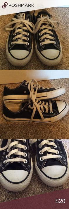 Black All Star Converse Chuck Taylor converse. Men's 4.5, Women's 6.5. Minor scuffs (see pictures), lots of life left. Any questions, please ask. Converse Shoes Sneakers
