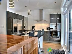 New kitchen contemporary house plans 51 Ideas Contemporary House Plans, Modern House Plans, Kitchen Contemporary, Modern Houses, Custom Home Designs, Custom Homes, Drummond House Plans, E Room, Tiny House Movement