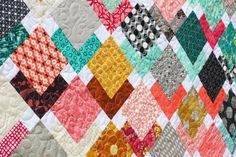 In Color Order: Sunset Tiles Quilt and Scraps, Inc.