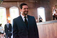 Josh in Steel blue suit