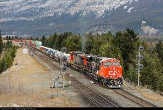 RailPictures.Net Photo: CN 2991 Canadian National Railway GE ES44AC at Jasper, Alberta, Canada by Tim Stevens