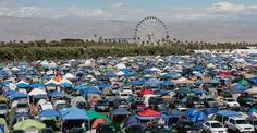 Coachella 2012 - car camping