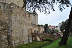En el Castillo de San Jorge Lisboa