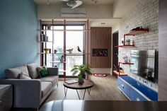 Aviation Inspiration and Superhero Dreams in a Quirky Tainan Home | Small room | home-designing